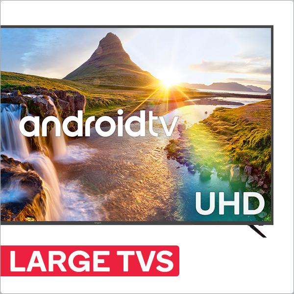 Large TVs