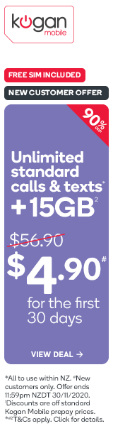 30 Day Large Prepay Mobile Plan for $4.90 - New Customer Offer!