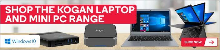 Shop the Kogan Laptop and Mini PC Range
