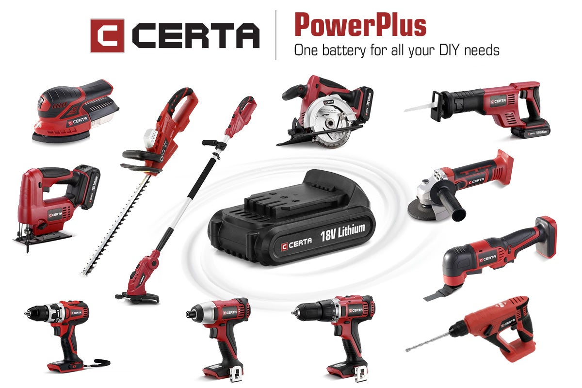 Certa PowerPlus Power Tools Range
