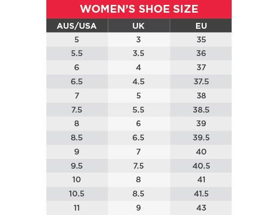 King Gee Women's Size chart
