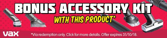 DSE Vax Cordless Vacuums with Bonus Bladekits