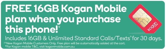 FREE Large 30 Day KM Plan with Compatible Smartphones. New Kogan Mobile Customers Only.  Free plan will be automatically added at the cart.