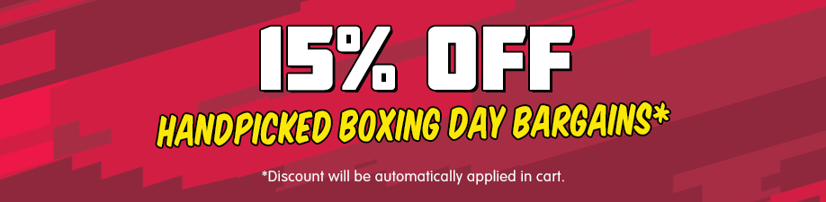 15% off Handpicked Boxing Day Bargains*