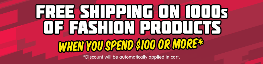 Boxing Day - Get Free Shipping on Selected Fashion When You Spend $100 or More*