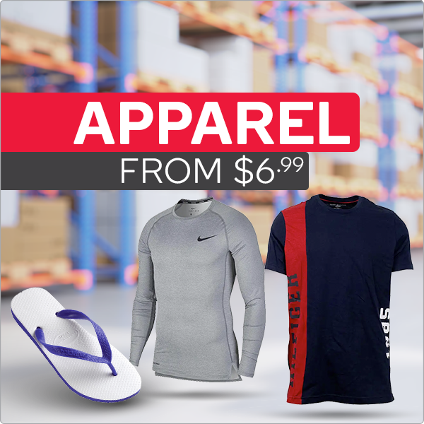 Warehouse Clearance - Apparel