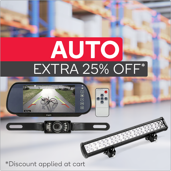Warehouse Clearance - Extra 25% OFF Auto Accessories*