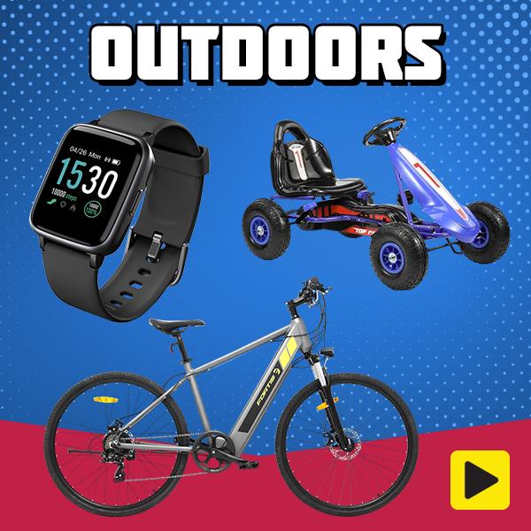Warm Weather Essentials - Outdoors