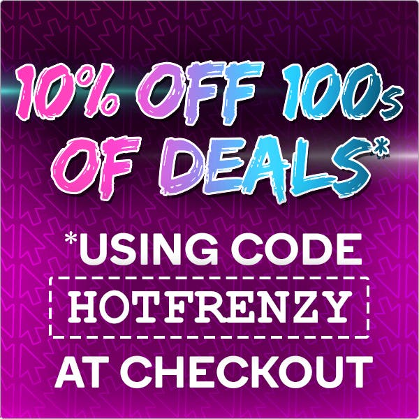 Frenzy - 10% OFF 100s of Deals using code HOTFRENZY at Checkout*