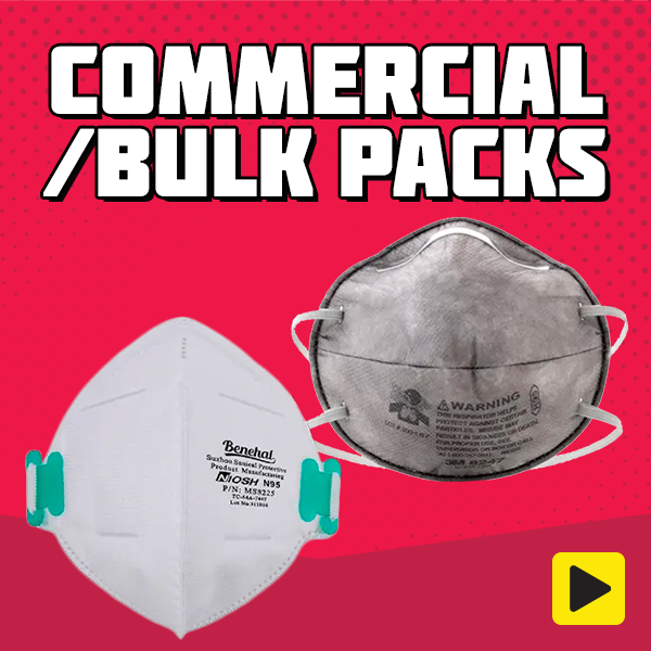 Bulk Pack Masks & Hand Sanitiser