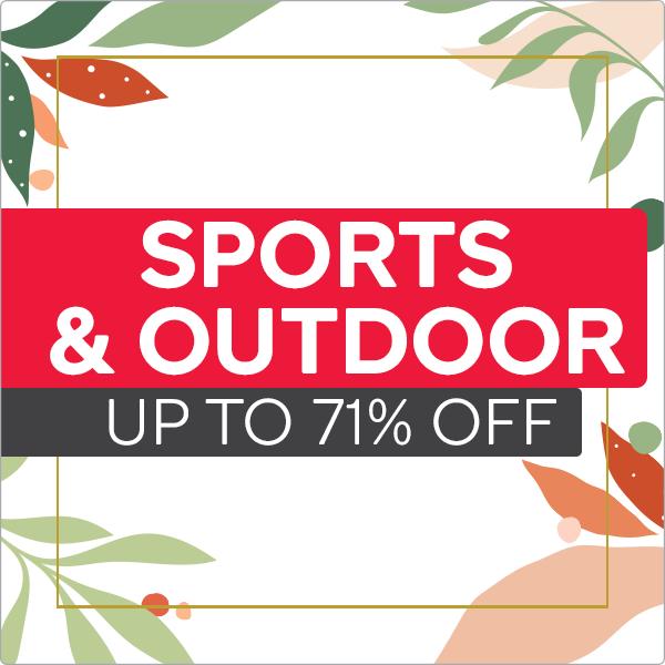September Spring Sale - Outdoor