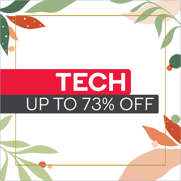September Spring Sale - Tech