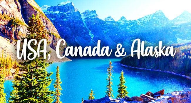 USA, Canada & Alaska