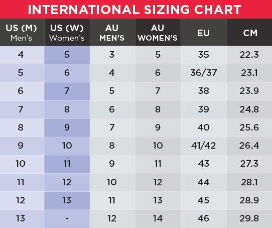 UGG Size Chart