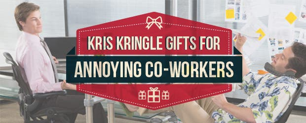 Kris Kringle Gifts for Annoying Co