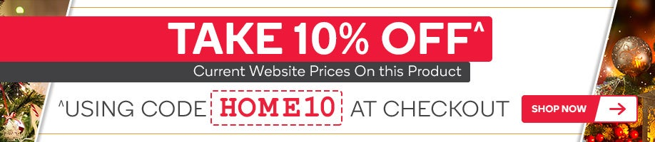 10% OFF Selected Products using the code HOME10