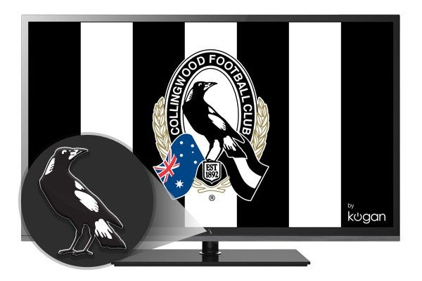 Collingwood teams up with Kogan to launch club branded TV