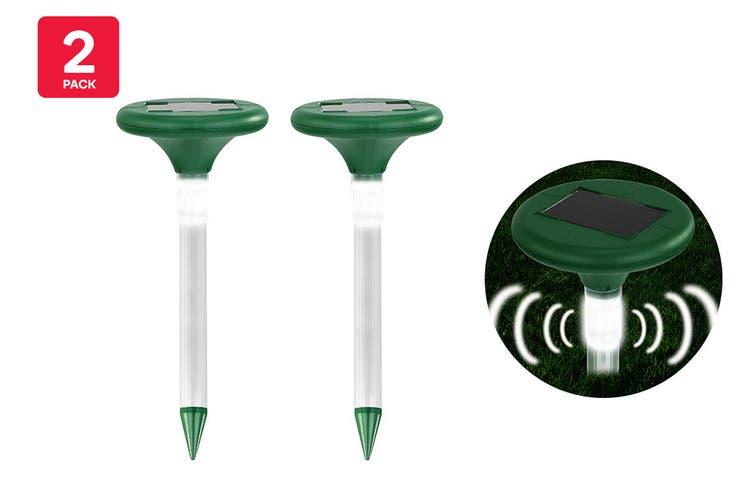 Pestill Solar LED Light Snake Repeller (2 Pack)