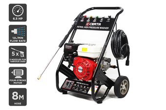 Certa 196CC Petrol High Pressure Washer