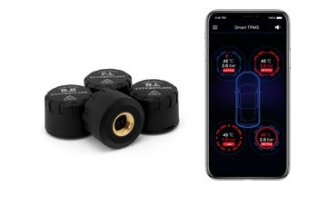 Certa 4 Wheel Smart Tyre Pressure Monitoring System