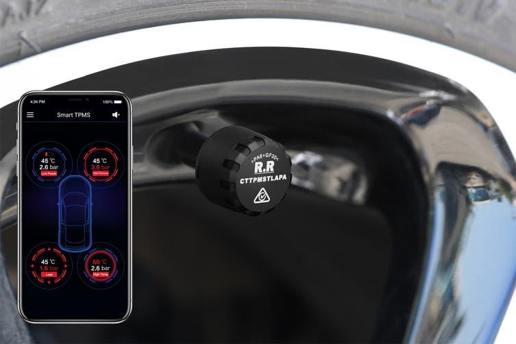 Certa 4 Wheel Smart Tyre Pressure Monitoring System