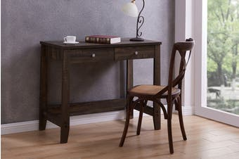 Shangri-La Desk with Drawer - Camden Collection (Dark Oak)