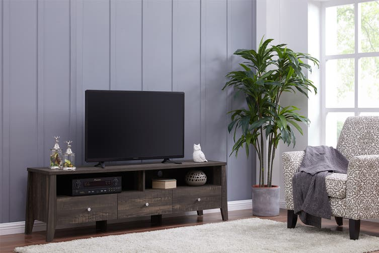 Shangri-La TV Entertainment Unit - Camden Collection (170cm, Dark Oak)
