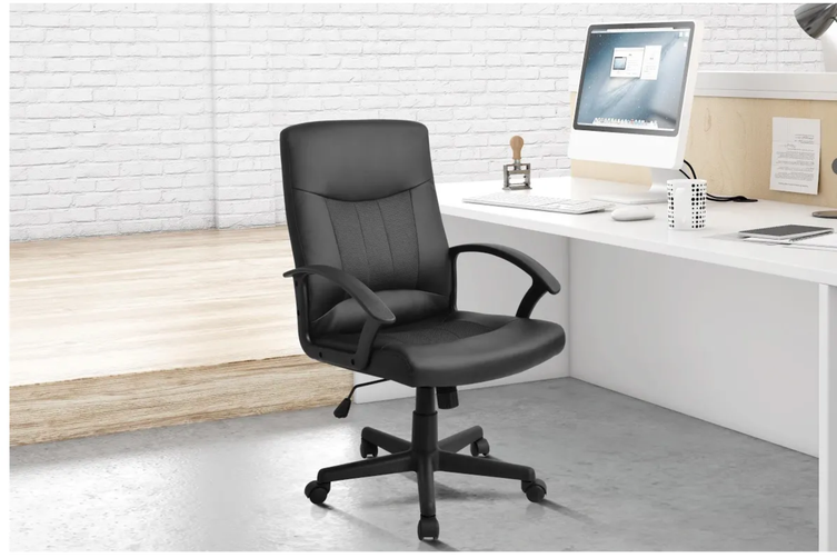 Ergolux Princeton High Back Padded Office Chair