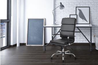 Ergolux Eames Replica High Back Padded Office Chair (Black)
