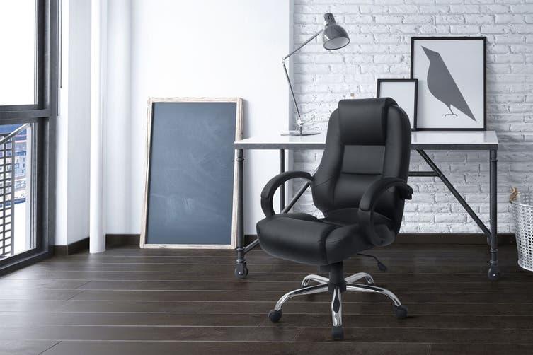 Ergolux Oxford High Back Padded Office Chair