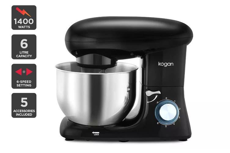 Kogan 1400W Classic Stand Mixer (Black)