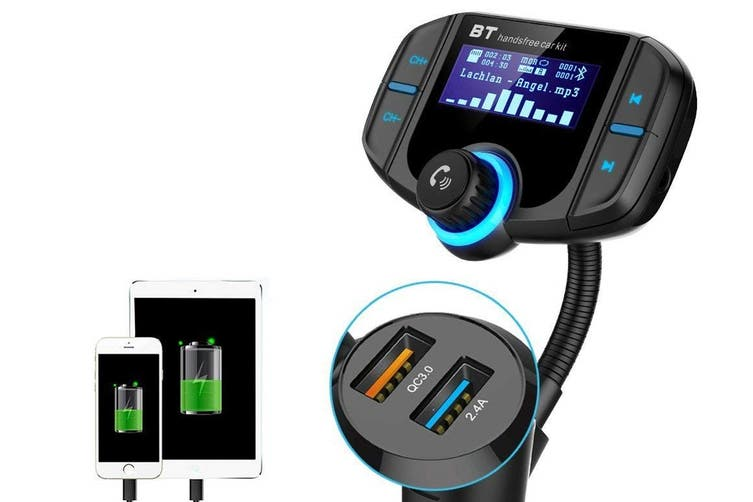 Kogan Bluetooth FM Transmitter With Built In Display