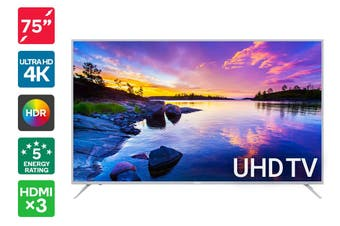 "Kogan 75"" 4K UHD HDR LED TV (Series 8 JU8100)"