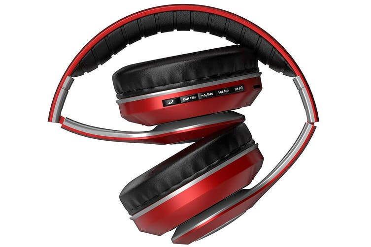 Kogan Pro Urban II Wireless Headphones (Metallic Red)