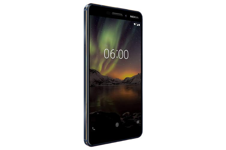 Nokia 6.1 (64GB, Blue/Gold)