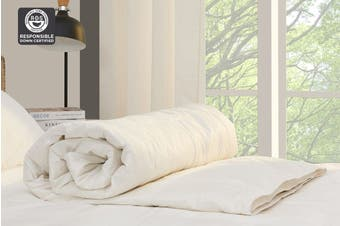 Ovela Lightweight Duck Down and Feather Quilt (Single)