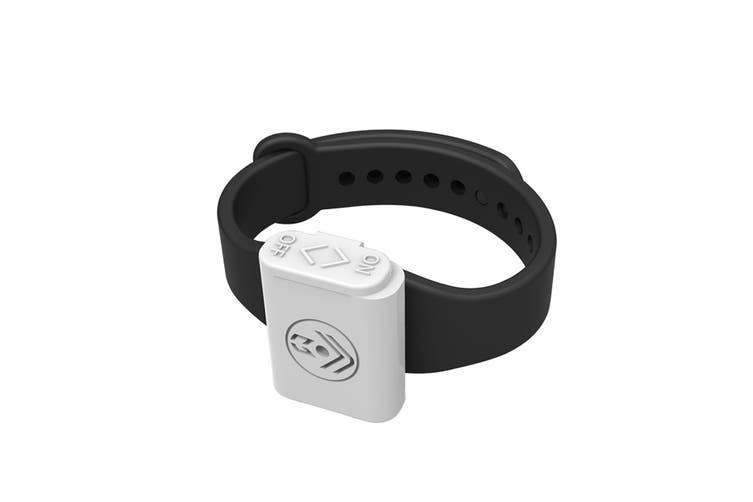 Pestill Electrosonic Mosquito Repeller Bracelet - Black