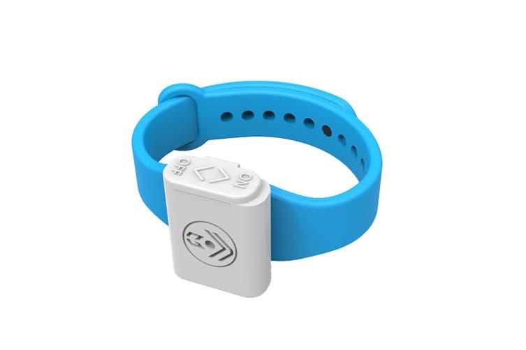 Pestill Electrosonic Mosquito Repeller Bracelet - Blue