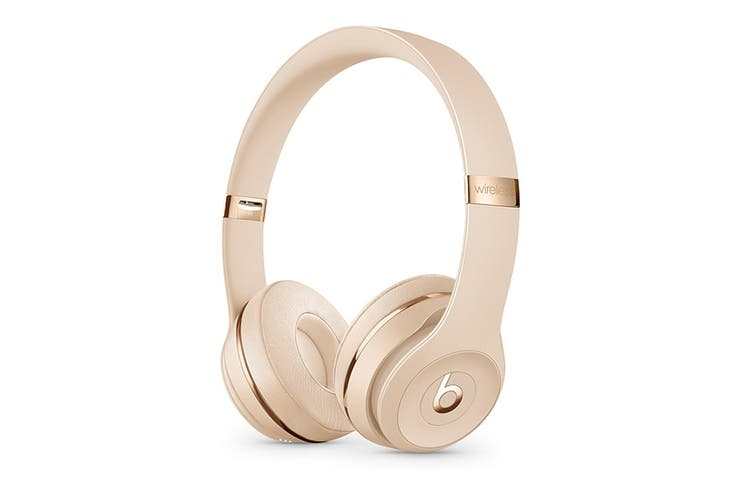 Beats Solo3 Wireless Headphones (Satin Gold)