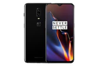 OnePlus 6T (6GB RAM, 128GB, Mirror Black) - Global Model