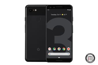 Refurbished Google Pixel 3 (64GB, Just Black) - Australian Model