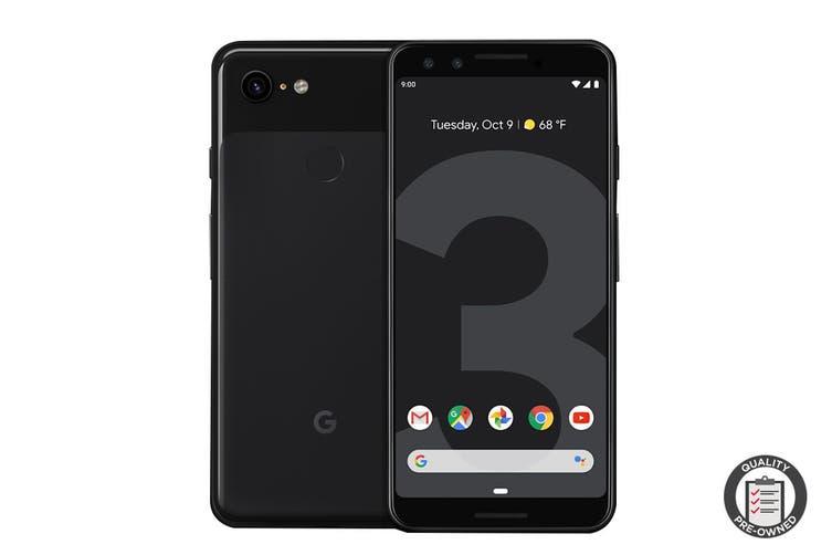 Google Pixel 3 Refurbished (64GB, Just Black) - AB Grade