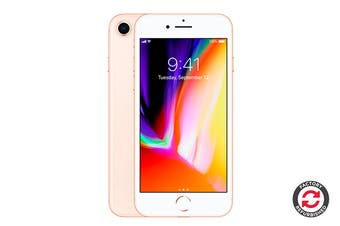 Apple iPhone 8 Refurbished (256GB, Gold) - A+ Grade