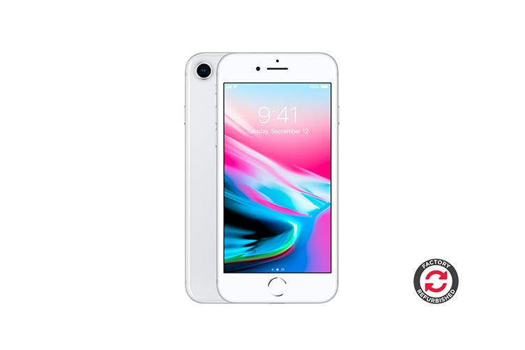 Apple iPhone 8 Refurbished (256GB, Silver) - A+ Grade