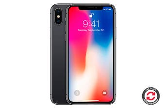 Apple iPhone X Refurbished (64GB, Space Grey) - A+ Grade