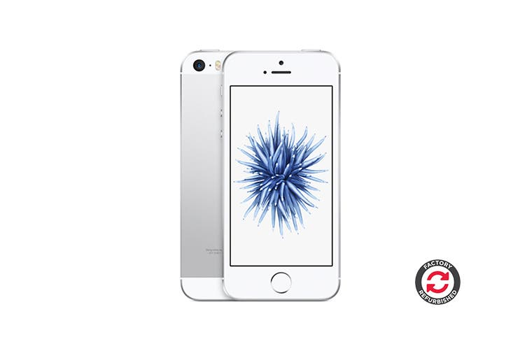 Apple iPhone SE Refurbished (16GB, Silver) - A+ Grade