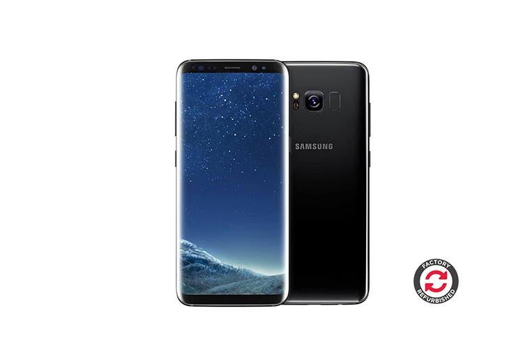Samsung Galaxy S8 Refurbished (64GB, Midnight Black) - A Grade