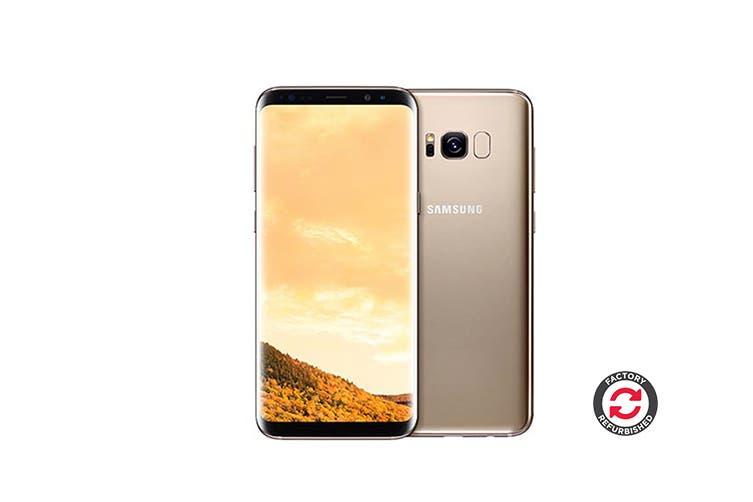 Samsung Galaxy S8 Refurbished (64GB, Maple Gold) - AB Grade