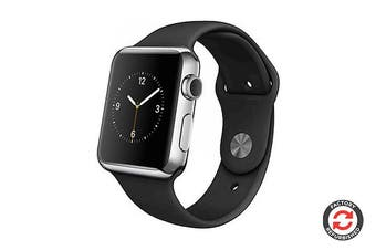 Apple Watch Series 1 Refurbished (Silver, Stainless Steel, 42mm, Sports Band) - AB Grade
