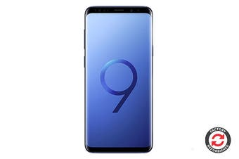 Samsung Galaxy S9 Refurbished (64GB, Coral Blue) - A Grade